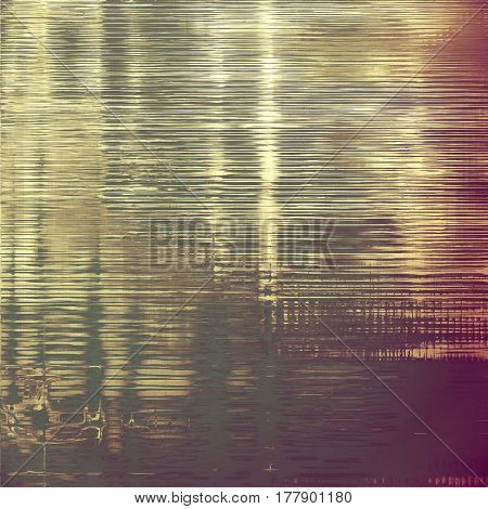 Aged grunge texture. With different color patterns: yellow (beige); brown; gray; purple (violet); pink