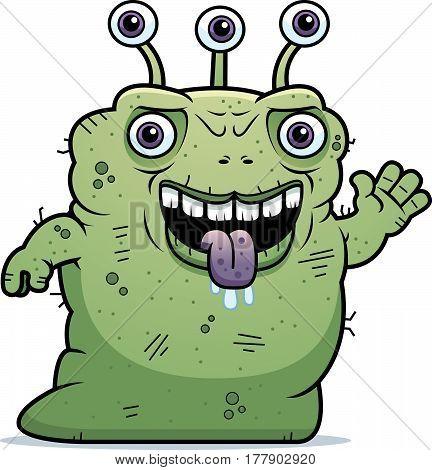 Ugly Alien Waving