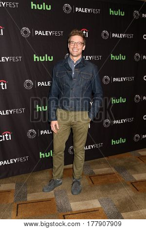 LOS ANGELES - MAR 21:  Barrett Foa at the 34th Annual PaleyFest Los Angeles -