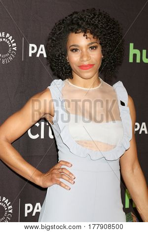 LOS ANGELES - MAR 19:  Kelly McCreary at the 34th Annual PaleyFest Los Angeles -