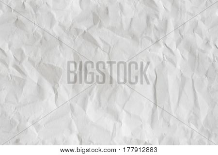 White Paper Crumpled Seamless Texture for Pattern