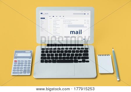 Composing an email on a digital device