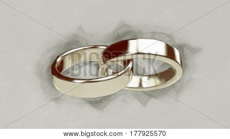Marriage marriage marry ring rings wedding ring wedding rings illustration