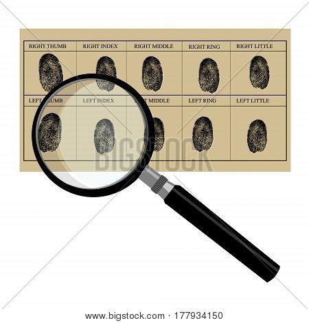 Finger Print Card