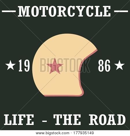 Helm Of A Motorcyclist