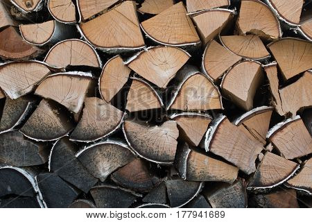 abstract detailed texture background of stack wood - more available