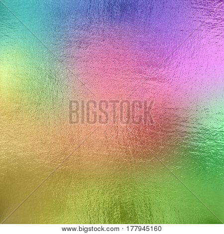 Colored foil texture background  for design and creativity