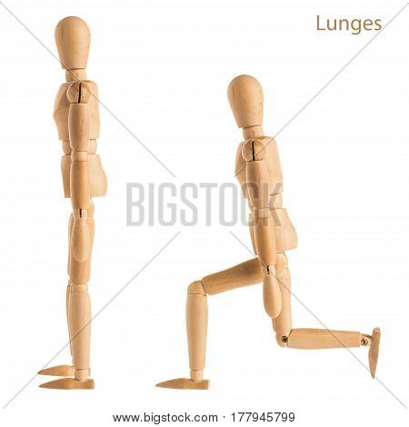 Lunges Pose