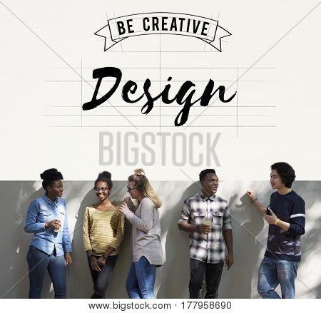 Creative Design Ideas Illustration Banner Concept