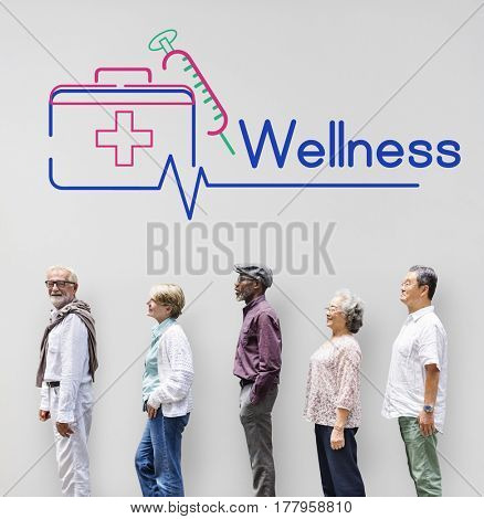 First Aid Box Healthcare Treatment Graphic