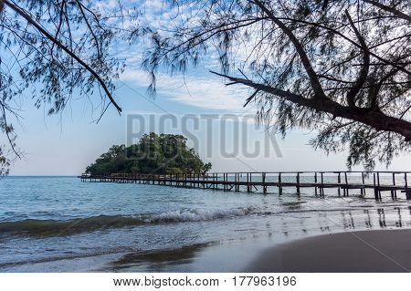 Thinkers Island, Cambodia.