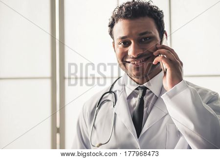 Afro American Doctor