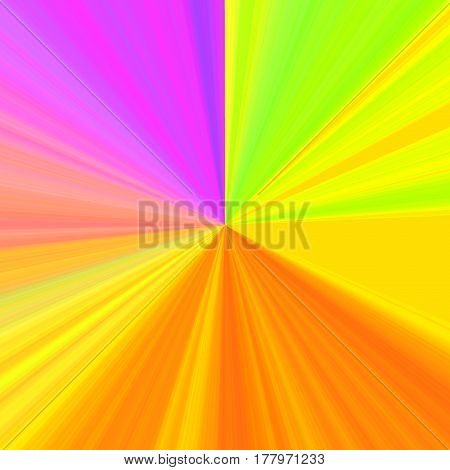 Circular Rgb Rainbow With Colors Gradient Background. Sunshines