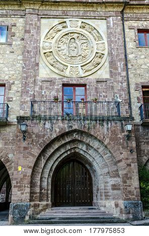 Nuestra Senora de Valvanera Monastery Valvanera Monastery of Our Lady has belonged to the Benedictines La Rioja Spain