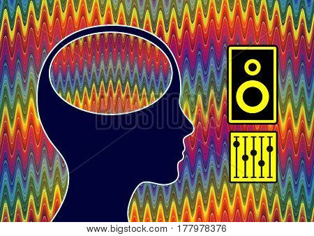 Brain Stimulation Music. The effect of sound waves on the human brain