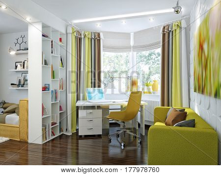 Bright And Cozy Room In Modern Style