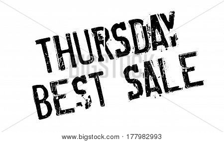 Thursday Best Sale rubber stamp. Grunge design with dust scratches. Effects can be easily removed for a clean, crisp look. Color is easily changed.