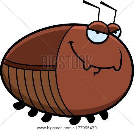 Sly Cartoon Cockroach
