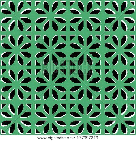 Moroccan Style Interlace Pattern