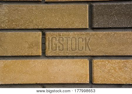 High resolution texture of part of brick wall