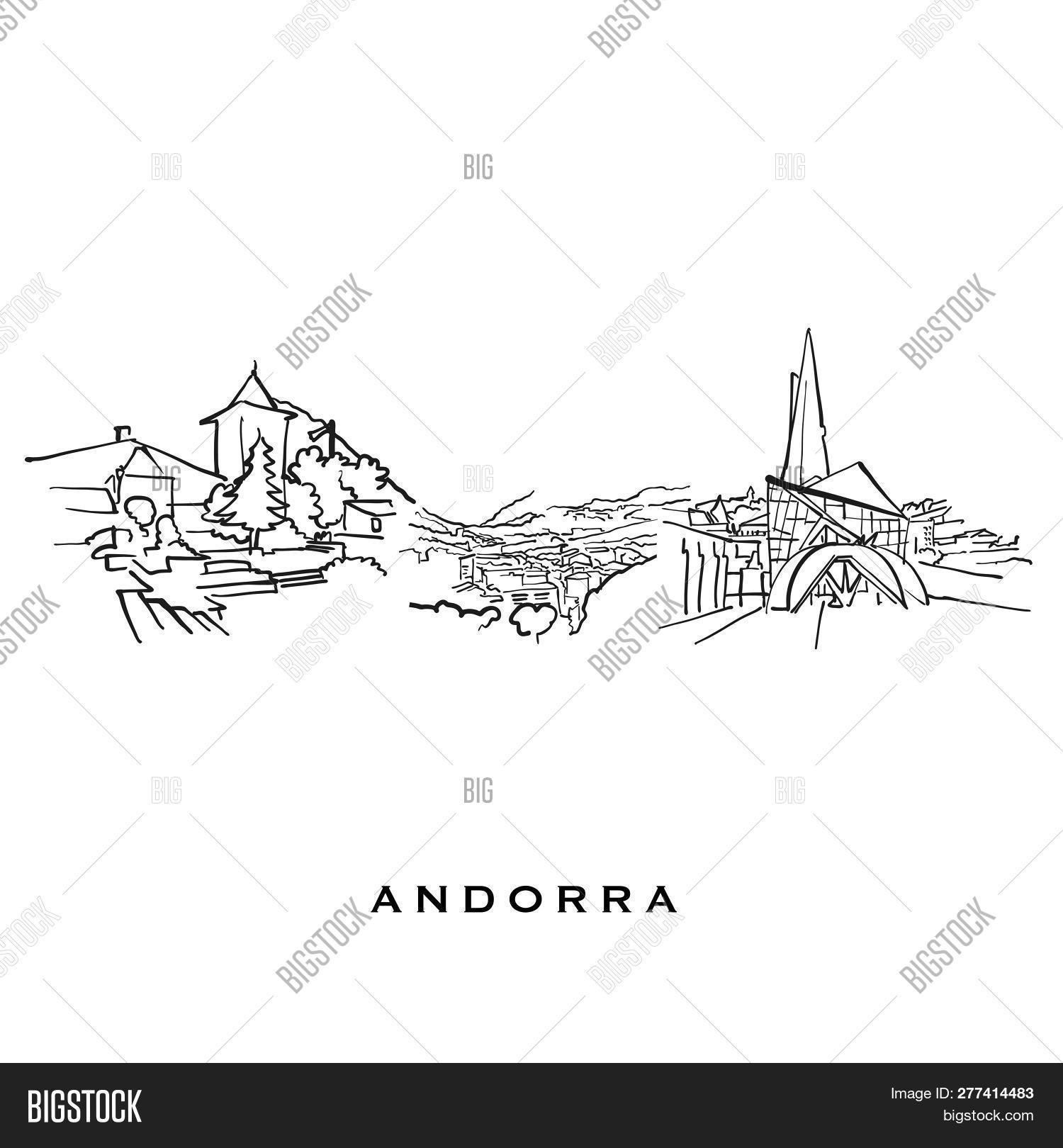 Andorra Famous Vector & Photo (Free Trial) | Bigstock