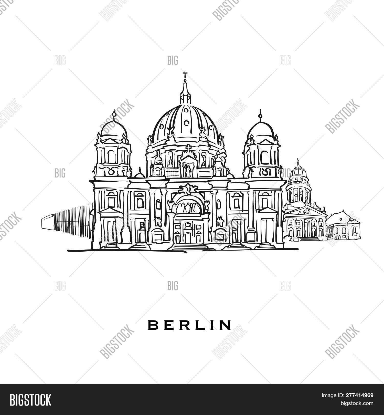 Berlin Germany Famous Vector & Photo (Free Trial) | Bigstock