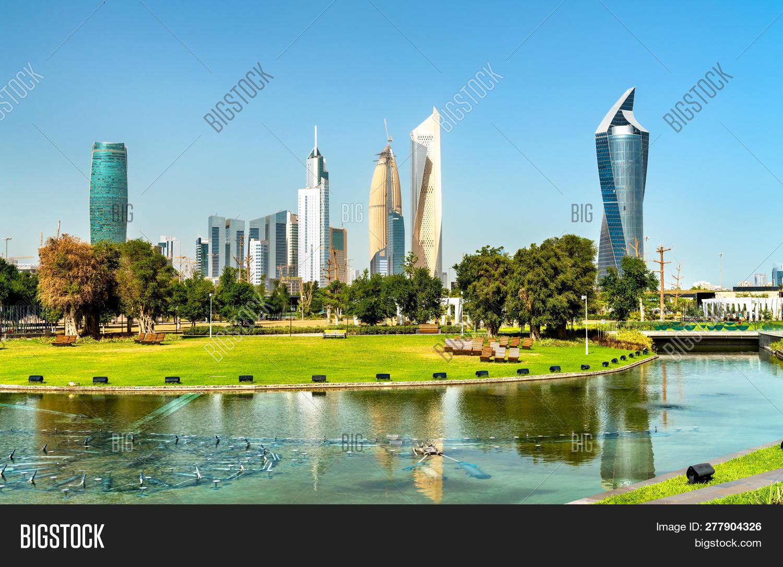 Skyline Kuwait City Al Image & Photo (Free Trial) | Bigstock