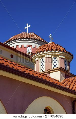 Church Of The Holy Trinity, Ieros Naos Agias Triados In The Village Of Kerkini, Serres Regional Unit