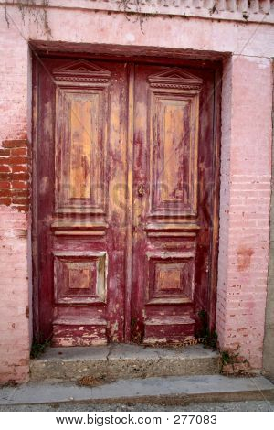 Distessed Scruffy Door