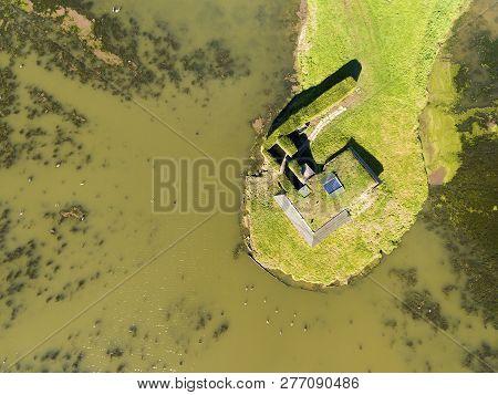 Natural Park Of Carentan, Brevands, Normandy, France