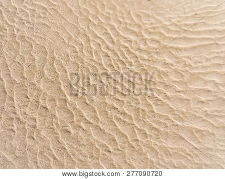 Sand In The Estuary Of Geffosses, Manche, Normandy, France