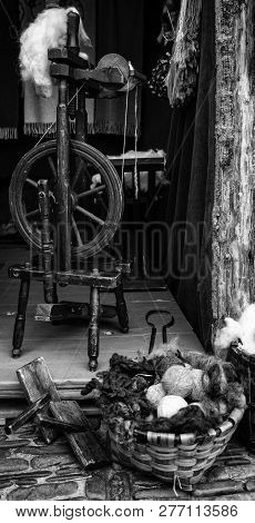 Tools For Making Wool, Traditional Objects For Wool