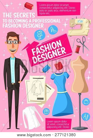 Fashion Designer Vector Photo Free Trial Bigstock