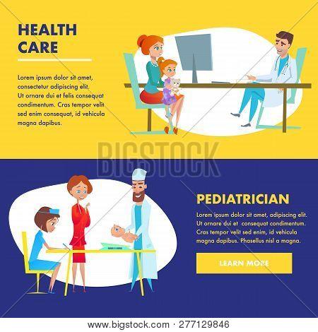 Pediatrician Health Vector & Photo (Free Trial) | Bigstock