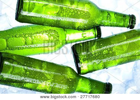 Bottle of beer, Green bottle