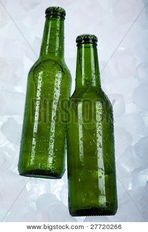 Beer is in ice