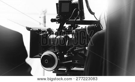 Behind The Shooting Or Filming Video Movie Production