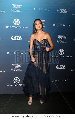 LOS ANGELES - JAN 5:  Jamie Chung at the Art of Elysium 12th Annual HEAVEN Celebration at a Private Location on January 5, 2019 in Los Angeles, CA