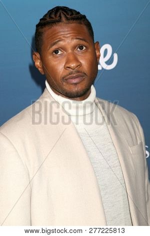 LOS ANGELES - JAN 5:  Usher Raymond IV at the Art of Elysium 12th Annual HEAVEN Celebration at a Private Location on January 5, 2019 in Los Angeles, CA