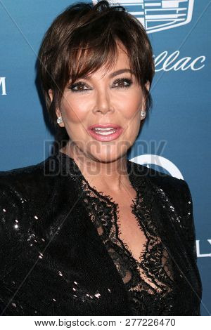 LOS ANGELES - JAN 5:  Kris Jenner at the Art of Elysium 12th Annual HEAVEN Celebration at a Private Location on January 5, 2019 in Los Angeles, CA