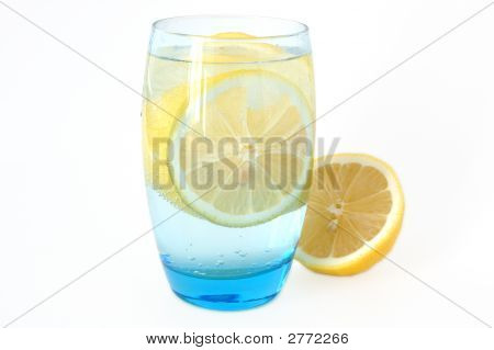 Lemon In Water.