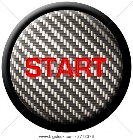 Carbon Fiber Start Button