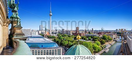 Berlin City Center On A Sunny Day