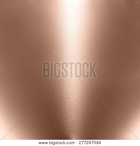 Metallic background with rose gold tint
