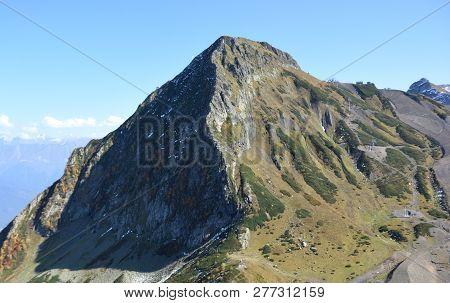 Сlimb To The Top Of The Black Pyramid, Sochi, Russia