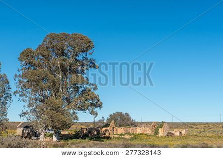 Nieuwoudtsville, South Africa, August 29, 2018: The Camping Area At Matjiesfontein Farm In The North