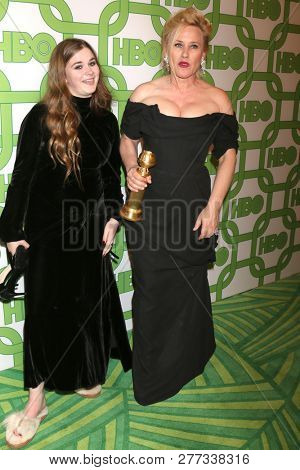 LOS ANGELES - JAN 6:  Harlow Jane, Patricia Arquette at the 2019 HBO Post Golden Globe Party at the Beverly Hilton Hotel on January 6, 2019 in Beverly Hills, CA