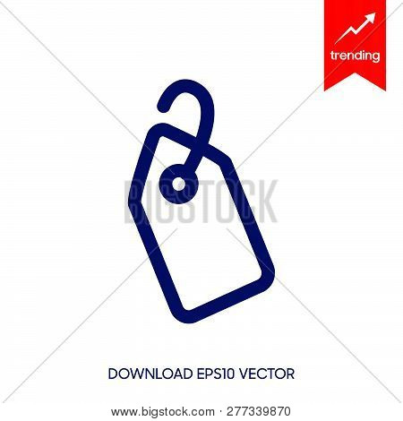 Price Tag Icon Isolated On White Background. Price Tag Icon Simple Sign. Price Tag Icon Trendy And M