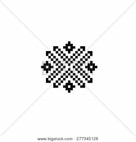 Scandinavian Symbols For Norway Fairisle Sweater Design In Vector