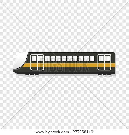 Urban Passenger Train Icon. Cartoon Of Urban Passenger Train Icon For Web Design